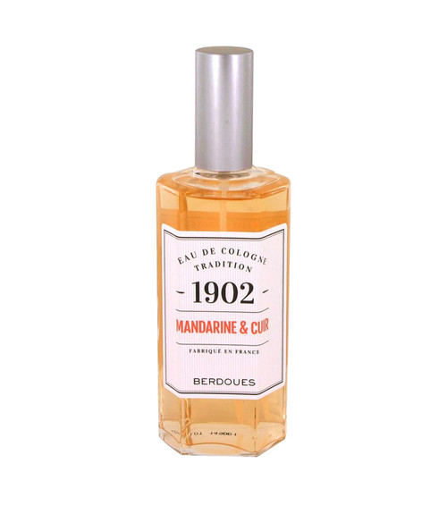 Berdoues 1902 Mandarine Leather Eau De Cologne Spray 4.2 oz Unisex Unboxed