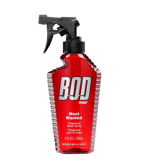 Parfums De Coeur Bod Man Most Wanted Fragrance Body Spray 8 oz