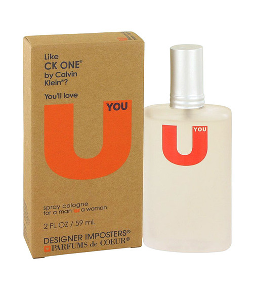 Parfums De Coeur Designer Imposters U You Cologne Spray 2 oz Unisex