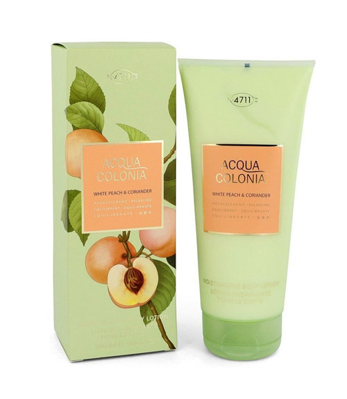 4711 Acqua Colonia White Peach & Coriander Body Lotion 6.8 oz