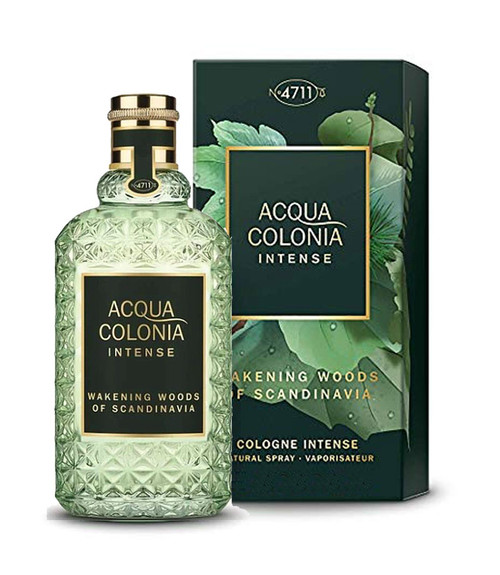 4711 Acqua Colonia Wakening Woods Eau De Cologne Intense Spray 5.7 oz Unisex