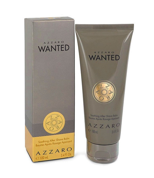 Azzaro Wanted After Shave Balm 3.4 oz