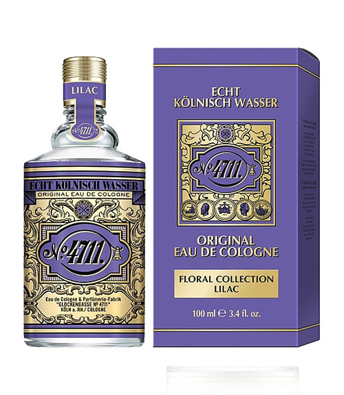 4711 Lilac Eau De Cologne Spray 3.4 oz Unisex