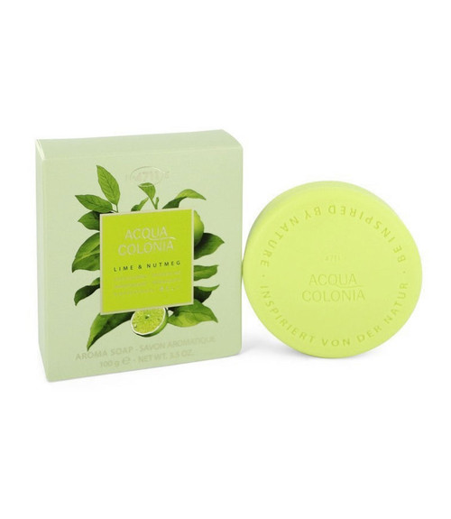 4711 Acqua Colonia Lime & Nutmeg Soap 3.5 oz