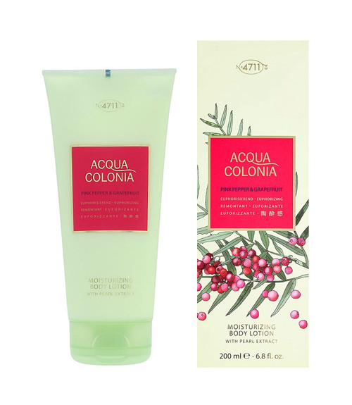 4711 Acqua Colonia Pink Pepper & Grapefruit Body Lotion 6.8 oz