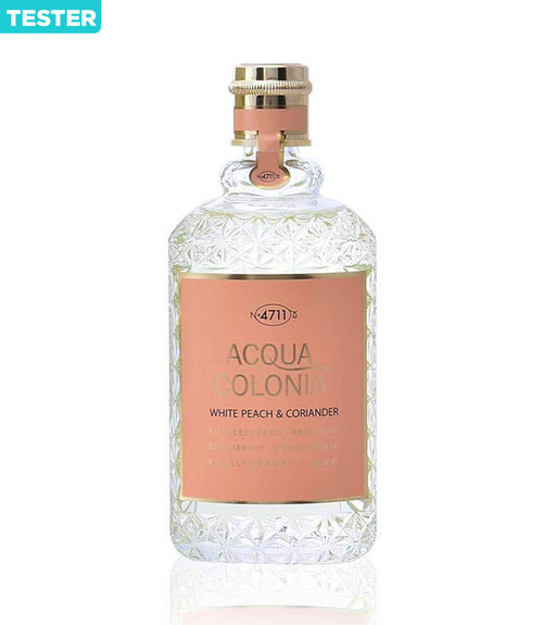 4711 Acqua Colonia White Peach & Coriander Eau De Cologne Spray 5.7 oz Unisex Tester