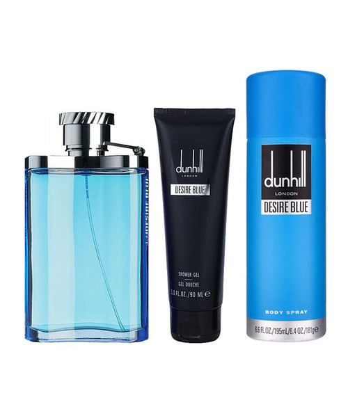 Alfred Dunhill Desire Blue 3-Piece Gift Set