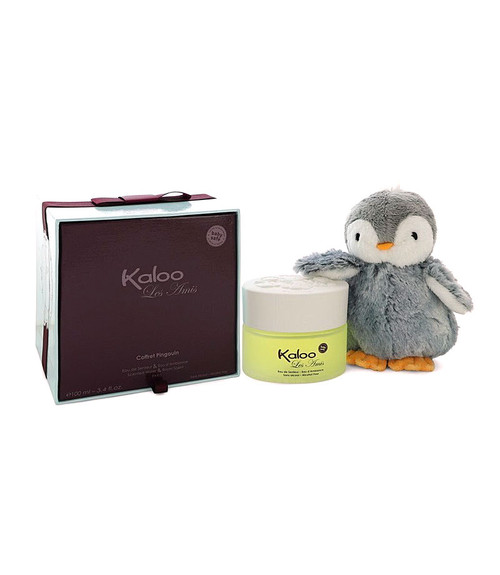Kaloo Les Amis Alcohol Free Eau D'ambiance Spray 3.4 oz (Alcohol Free) + Free Penguin Soft Toy
