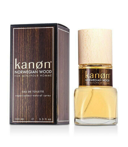 Kanon Norwegian Wood Eau De Toilette Spray 3.3 oz
