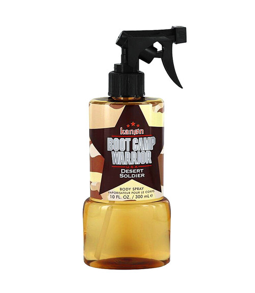 Kanon Boot Camp Warrior Desert Soldier Body Spray 10 oz