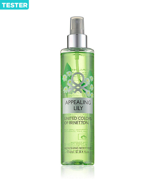 Benetton Appealing Lily Body Mist 8.4 oz Tester