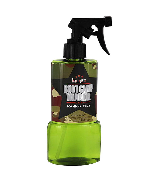 Kanon Boot Camp Warrior Rank & File Body Spray 10 oz