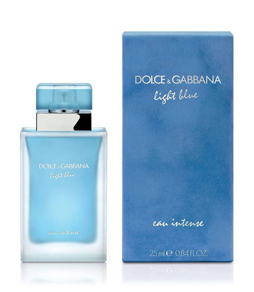 Dolce & Gabbana Light Blue Eau Intense Eau De Parfum Spray .84 oz