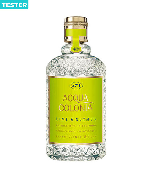4711 Acqua Colonia Lime & Nutmeg Eau De Cologne Spray 5.7 oz Tester