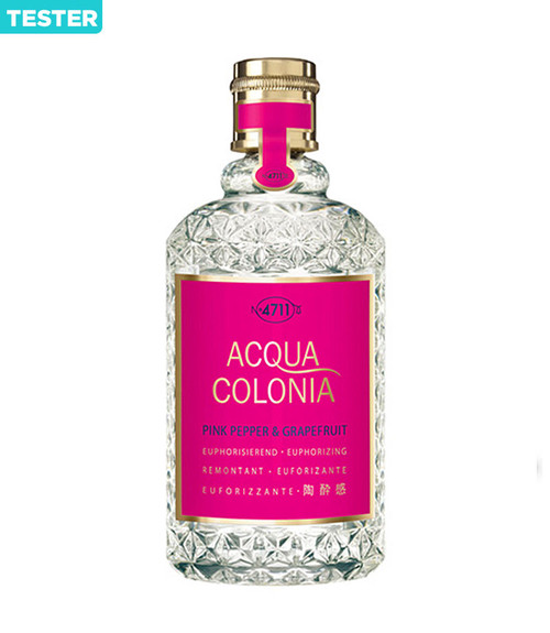 4711 Acqua Colonia Pink Pepper & Grapefruit Eau De Cologne Spray 5.7 oz Tester