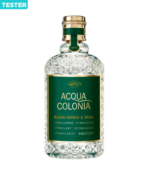 4711 Acqua Colonia Blood Orange & Basil Eau De Cologne Spray 5.7 oz Unisex Tester