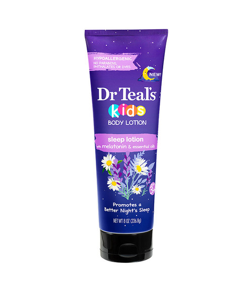 Dr Teal's Kids Hypoallergenic Sleep Lotion 8 oz Unisex
