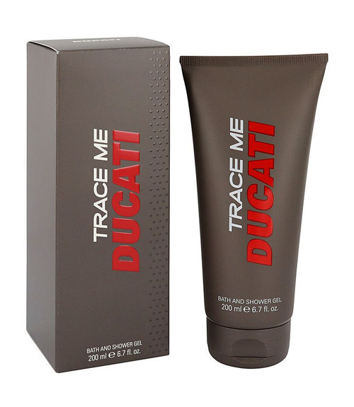 Ducati Trace Me Bath and Shower Gel 6.7 oz for Men
