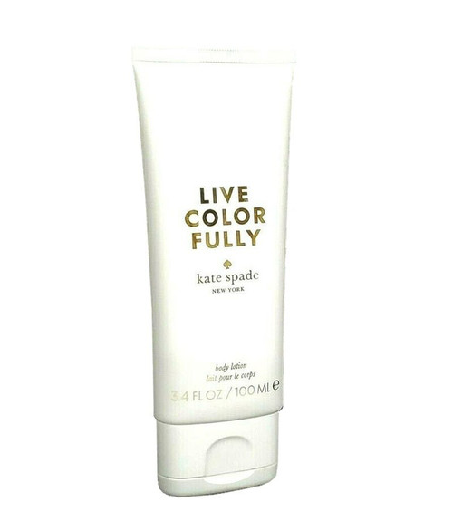 Kate Spade Live Colorfully Body Lotion 3.4 oz for Women