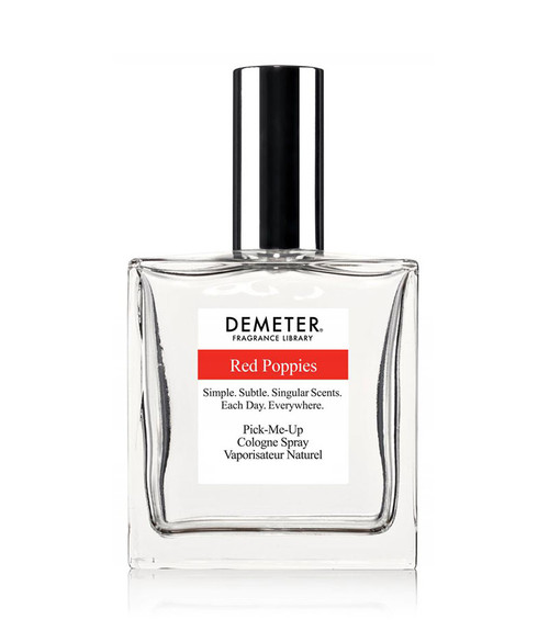 Demeter Red Poppies Cologne Spray 4 oz Unboxed