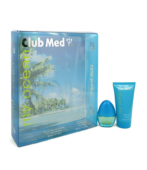 Club Med My Ocean by Coty Gift Set for Women