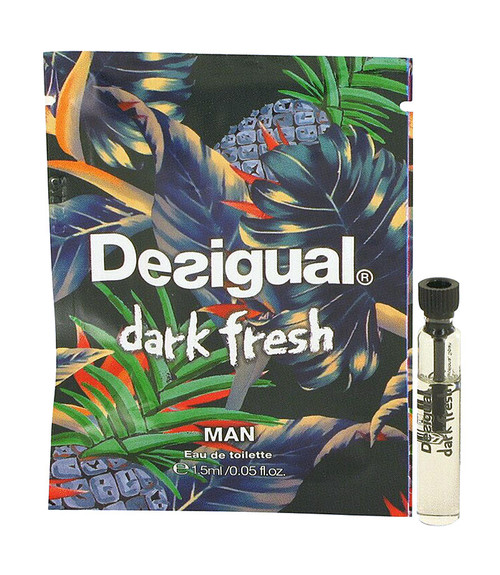 Desigual Dark Fresh Eau De Toilette .05 oz Sample