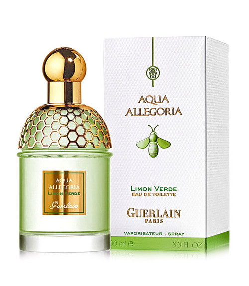 Guerlain Aqua Allegoria Limon Verde Eau De Toilette Spray 4.2 oz with box