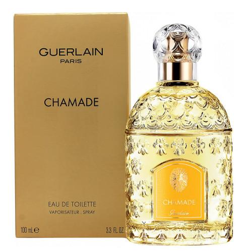 Guerlain Chamade Eau De Toilette Spray 3.3 oz with box