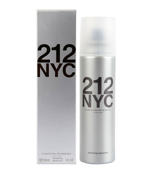 Carolina Herrera 212 NYC Deodorant Spray 5.1 oz