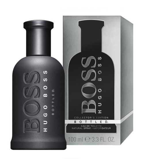 Boss Bottled Man of Today Collector's Edition by Hugo Boss Eau De Toilette Spray 3.4 oz with box