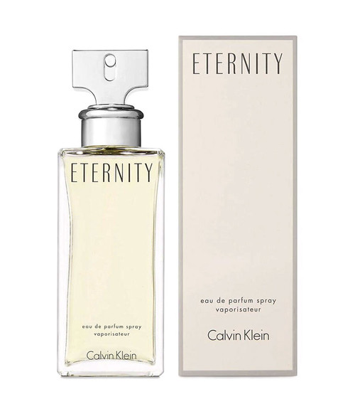 Calvin Klein Eternity Eau De Parfum Spray 3.4 oz