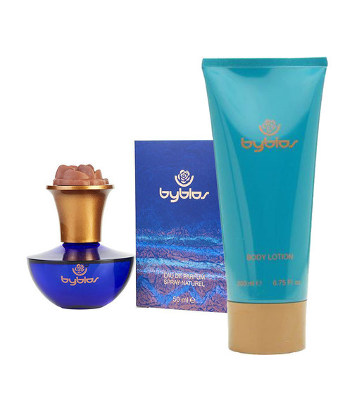 Byblos Eau De Parfum and Lotion Gift Set
