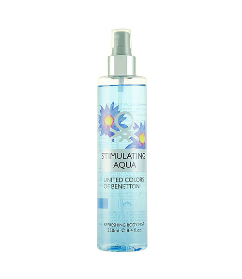 Benetton Stimulating Aqua Refreshing Body Mist 8.4 oz