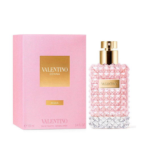 Valentino Donna Acqua Eau De Toilette Spray 3.4 oz with box