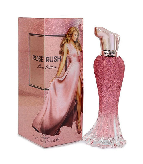 Paris Hilton Rose Rush Eau De Parfum Spray 3.4 oz