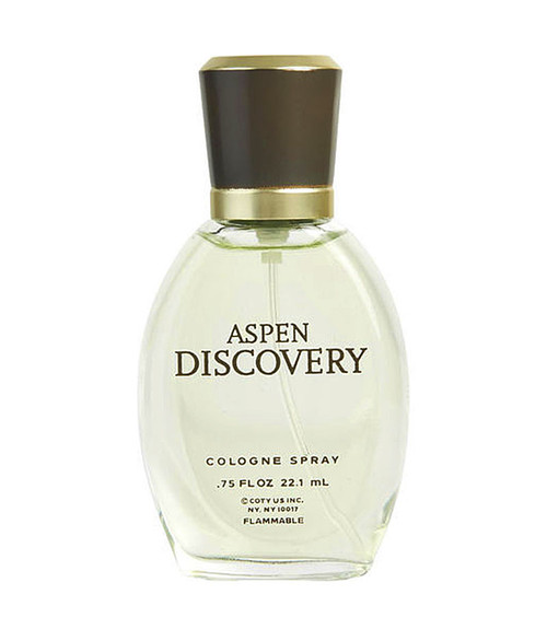 Aspen Discovery by Coty Cologne Spray .75 oz Unboxed