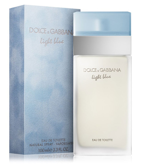 Dolce & Gabbana Light Blue Eau De Toilette Spray 3.4 oz with box
