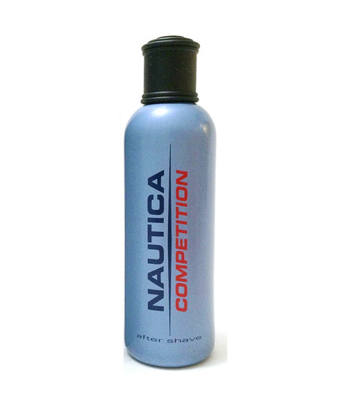 Nautica Competition After Shave 4.2 oz Blue Bottle unboxed