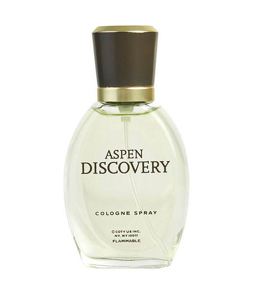 Aspen Discovery by Coty Cologne Spray 1.7 oz Unboxed