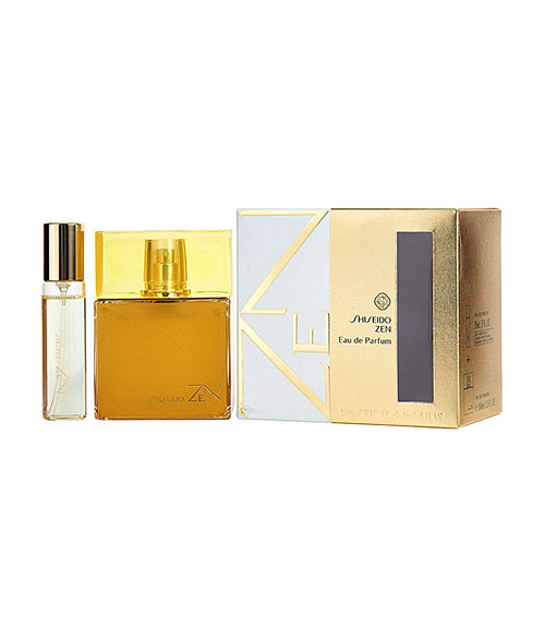 Shiseido Zen Eau De Parfum Spray 3.4 oz with .5 oz Mini