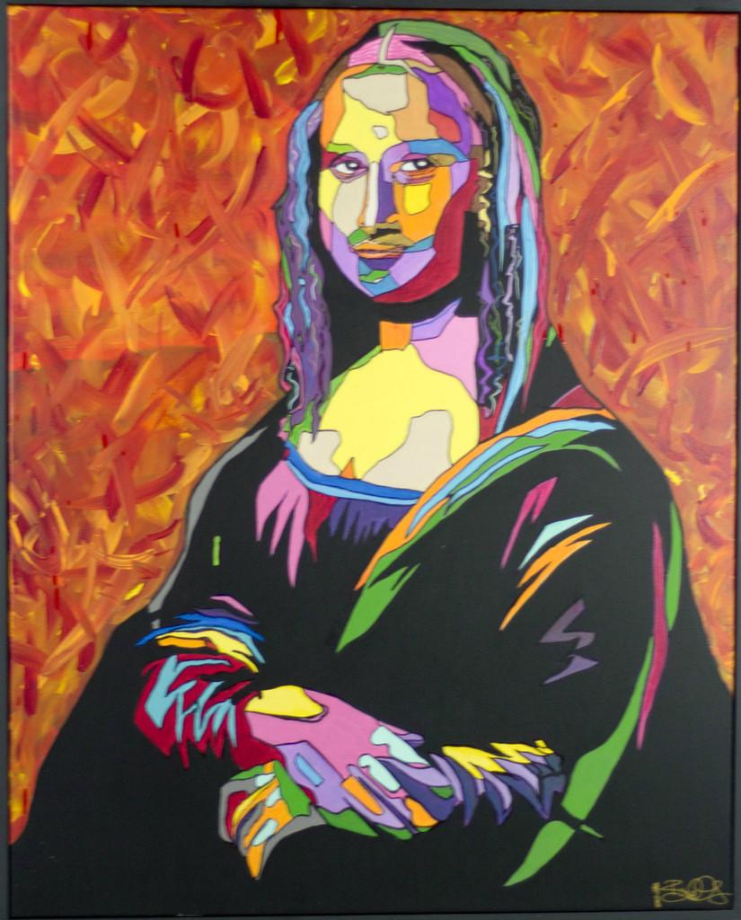 30x40 Acrylic on framed canvas