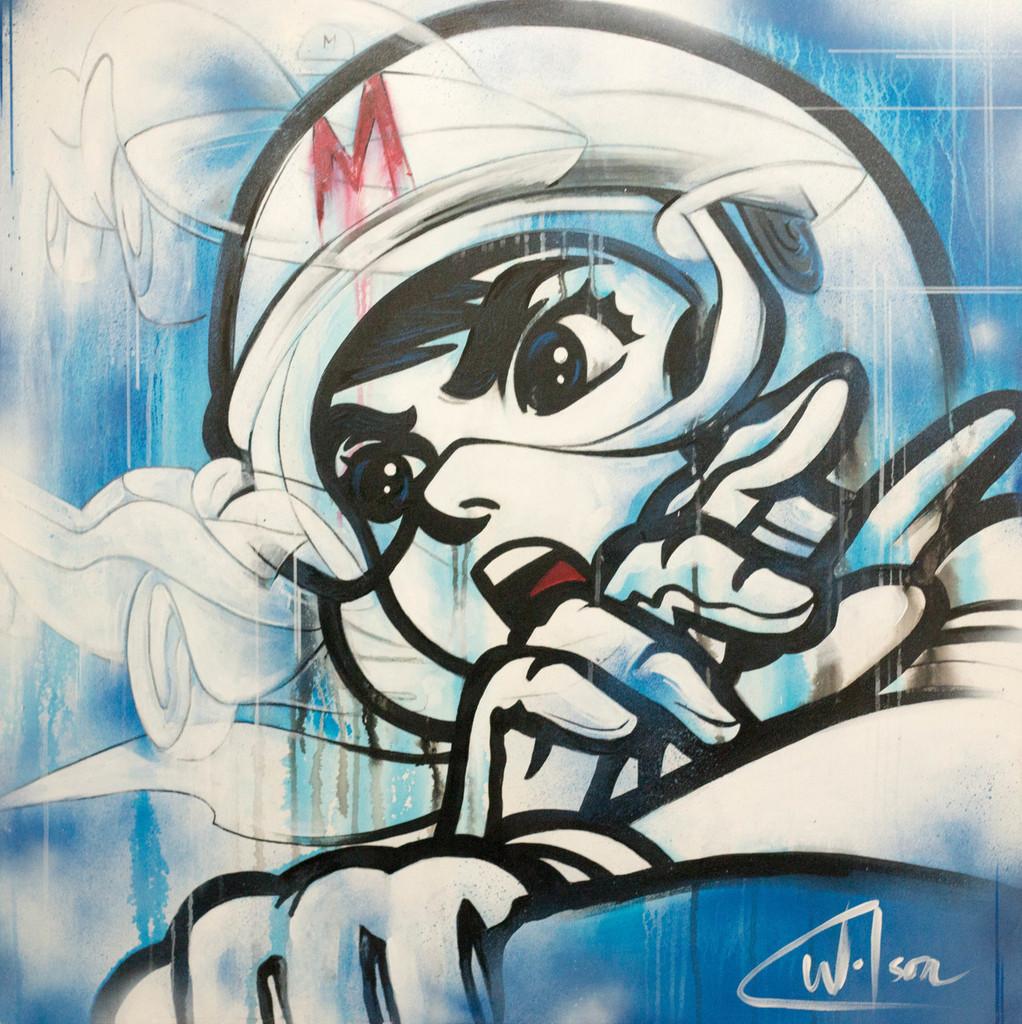36x36 Mixed Media on Canvas