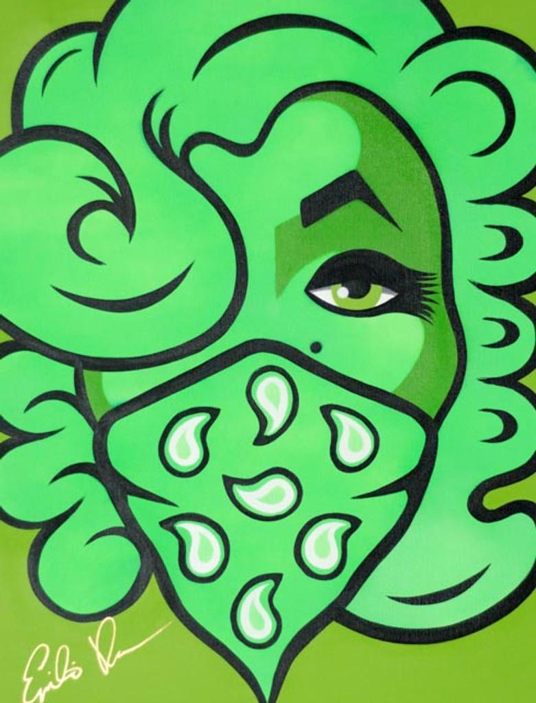 Neon Green Marilyn