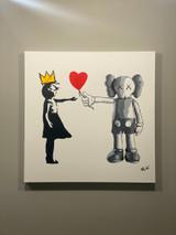 kaws x Banksy