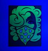 Neon Green Marilyn By Emilio Ramos