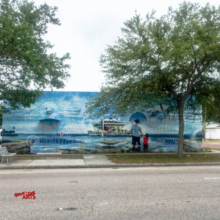 St. Petersburg Fl. Street art 5/17/16