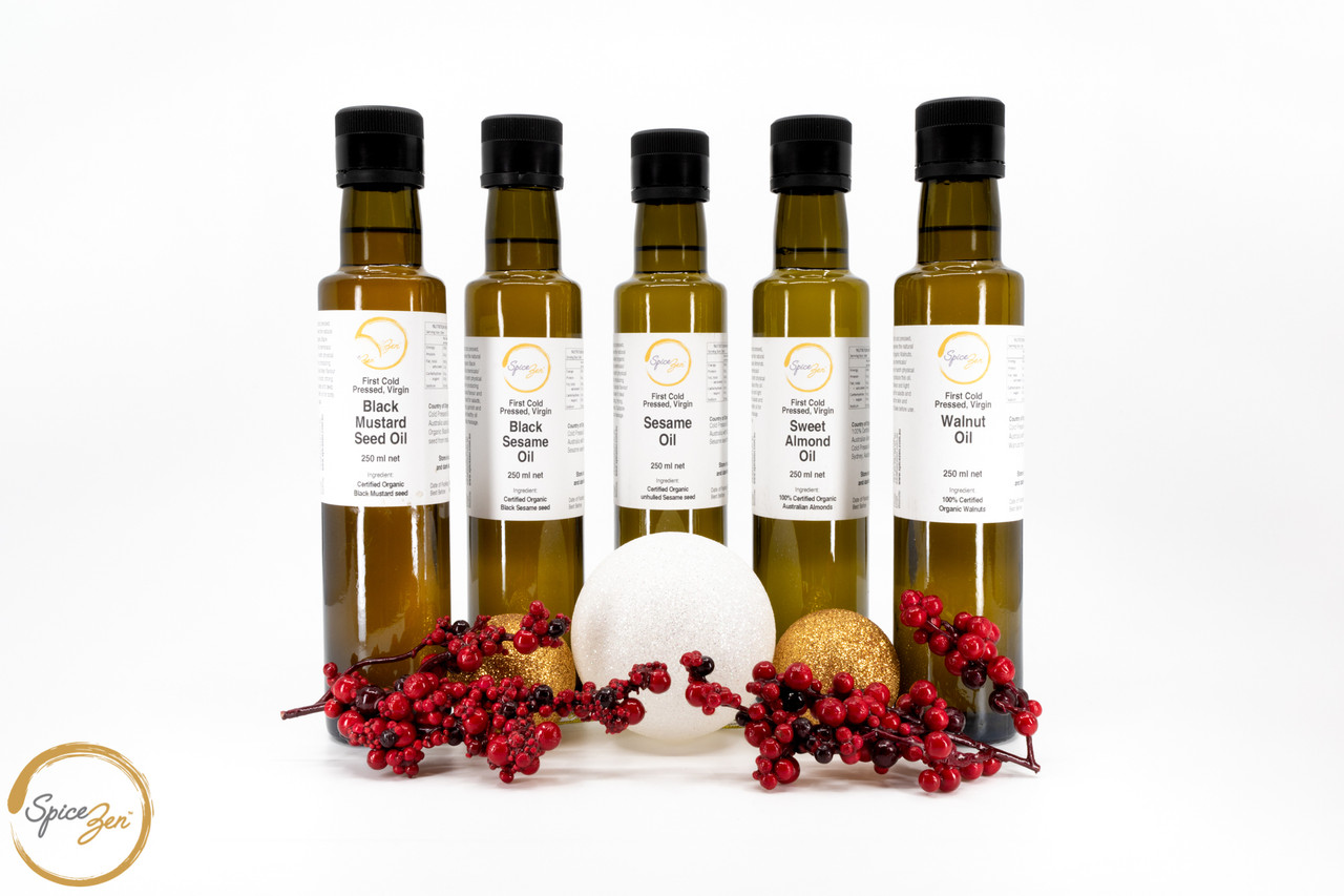 Fresh Cold Pressed Oils