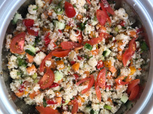 Rice Couscous Salad