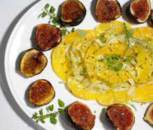 Caramelised Fig, Fennel & Orange Salad