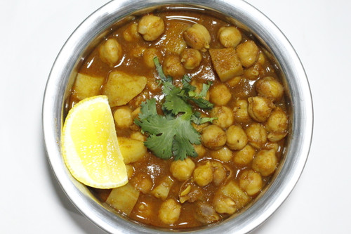 Spiced Chickpea Potato